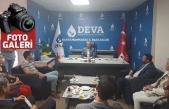 """İYİ Parti'den DEVA'ya """"hayırlı olsun"""" ziyareti"""