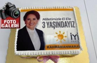 İYİ Parti, kuruluş yıldönümünü, Kahramanmaraş'ta da kutluyor