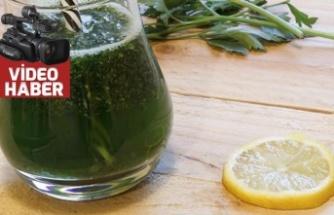 Maydanoz limon kürü nasıl uygulanır?