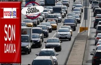 Kahramanmaraş'ta 244 574 kayıtlı araç var