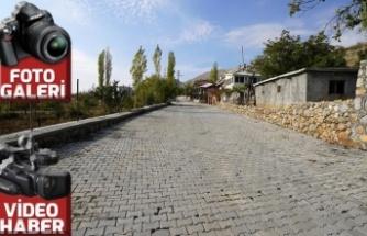 Nurhak'ta yollar güzelleşti