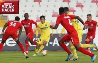 DG Sivasspor Avrupa Ligi'nde mağlup