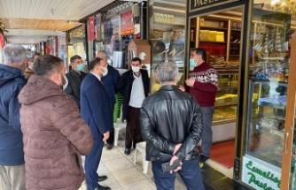 İYİ Parti'ye göre, Türkoğlu'nda esnaf perişan!