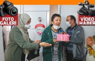 Büşra'nın hayali gerçek oldu