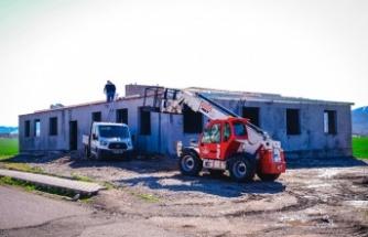 Dulkadiroğlu'ndan bir sosyal tesis te Aksu Mahallesine