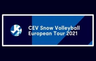 Kar Voleybolu Milli Takımımız, Avrupa'da sahne alıyor
