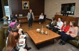 AKEDAŞ'ın Kadın Genel Müdürü Kadınlar Günü sorunlarını cevaplandırdı
