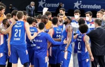 Anadolu Efes,  Avrupa Ligi'nde 16. galibiyetini aldı