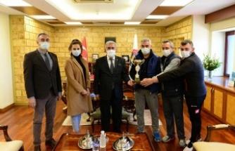 KSÜ Masa Tenisi Takımı, İl Elemelerinde birinci oldu