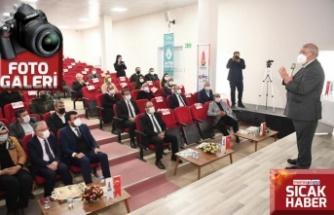 Mahçiçek ilçelerde EXPO 2023 Tanıtım Toplantıları yaptı