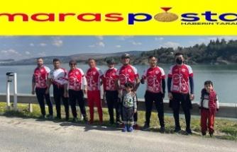 Pazarcıklı bisikletçilere yurt dışı desteği