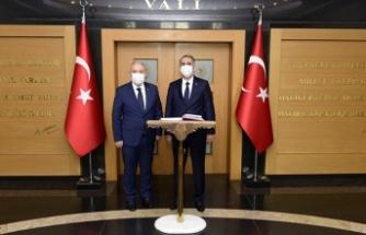 Adıyaman Valisi Mahmut Çuhadar, Kahramanmaraş'taydı