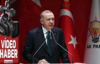 """Erdoğan: """"Ramazanda salgının boynunu kıracağız"""""""
