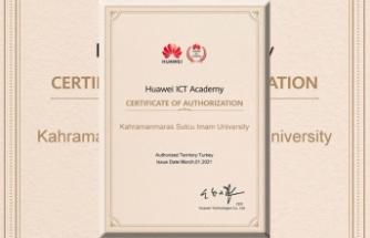 KSÜ ile Huawei akademik partnerlik anlaşması yapıldı