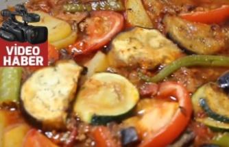 Patlıcanlı patates ve kabaklı oturtma tarifi