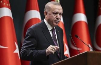 Başkan Erdoğan, resti çekti…