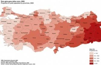 Türkiye nüfusunun yüzde 15,4'ünü genç nüfus oluşturdu