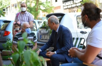 Başkan Okay, esnaf ziyaretlerini sürdürüyor