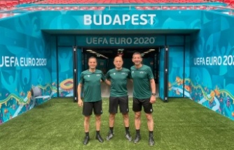 Çakır, Ukrayna-Avusturya maçını yönetecek
