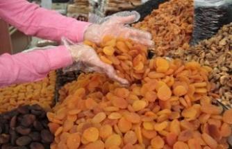 Kahramanmaraş'ta 67 bin 477 ton kayısı üretiliyor