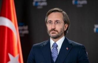 Fahrettin Altun'dan üçüncü kuruluş yıldönümünü mesajı..