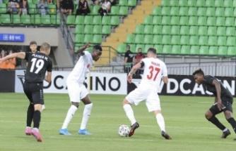 Sivasspor, Avrupa'ya galibiyet ile başladı