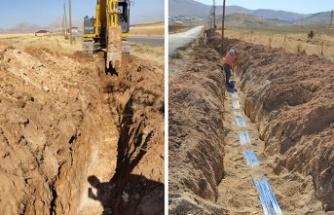 Bakış'ta içme suyu hattı tamamlandı