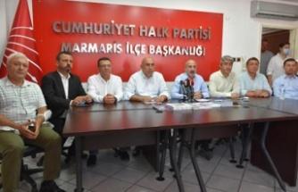 CHP Heyeti: Ülkemiz 5 günde yangınlara teslim edildi