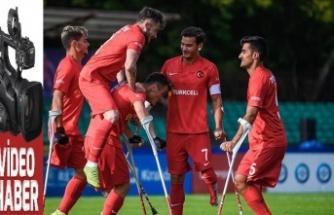 Ampute Futbol Milli Takımı, yarı finale yükseldi