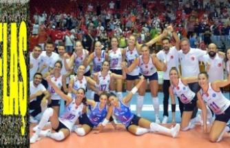 Aydın Büyükşehir, Balkan Voleybol Kupası'nda şampiyon