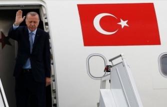 Cumhurbaşkanı Erdoğan, yarın Rusya'ya gidecek