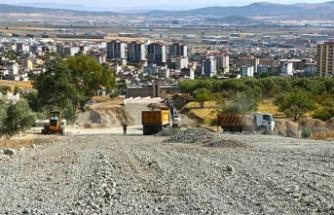 Dulkadiroğlu'nda yeni bulvar inşa ediliyor