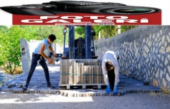 Dulkadiroğlu'ndan 2 mahalleye parke çalışması