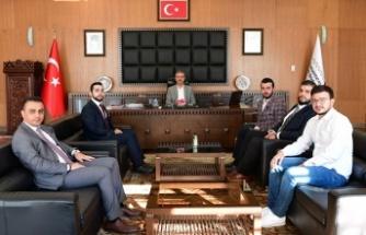 Genç MÜSİAD'dan Güngör'e ziyaret