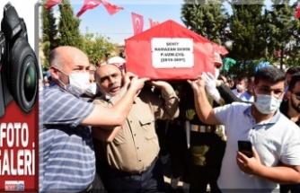 İdlib Şehidimiz Ramazan, dualarla uğurlandı