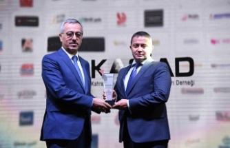 Bahtiyar Yokuşu Projesine KASİAD ödülü