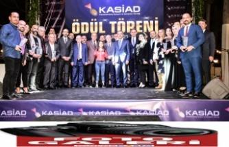 KASİAD Ödülleri sahiplerini buldu