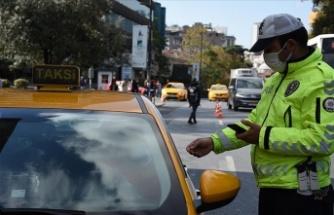 Türkiye genelindeki denetimlerde 742 taksiye cezai işlem uygulandı