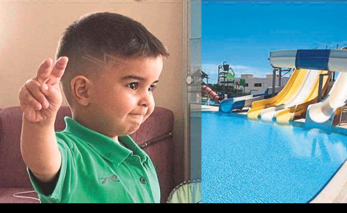 4 yaşındaki çocuk 5 yıldızlı otelin havuzunda boğularak can verdi