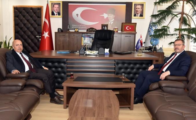 TEİAŞ Bölge Müdürü İnanç, Aydın'ı ziyaret etti