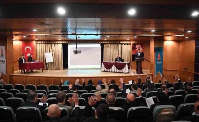 Onikişubat Belediyesi yeni yılın ilk Meclis toplantısını gerçekleştirdi