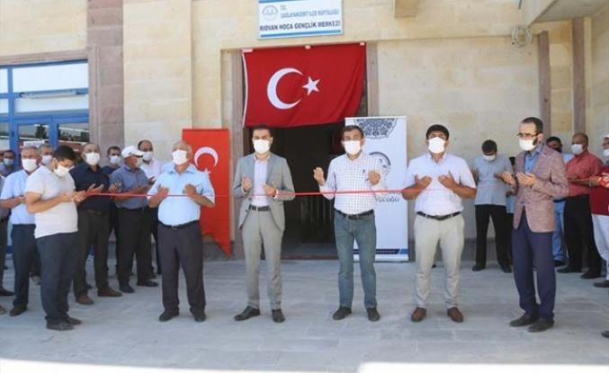 Çağlayancerit'te Rıdvan Hoca Gençlik Merkezi açıldı
