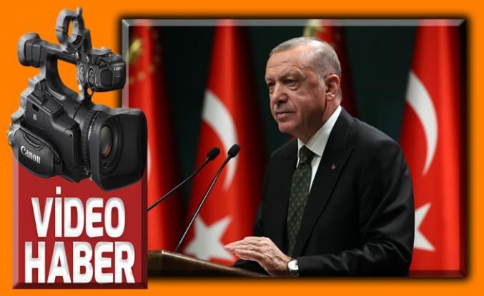 Erdoğan Kovid-19'a ilişkin yeni tedbirleri açıkladı