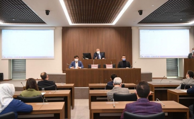 Onikişubat Belediyesi Kasım Ayı Olağan Meclis Toplantısı yapıldı