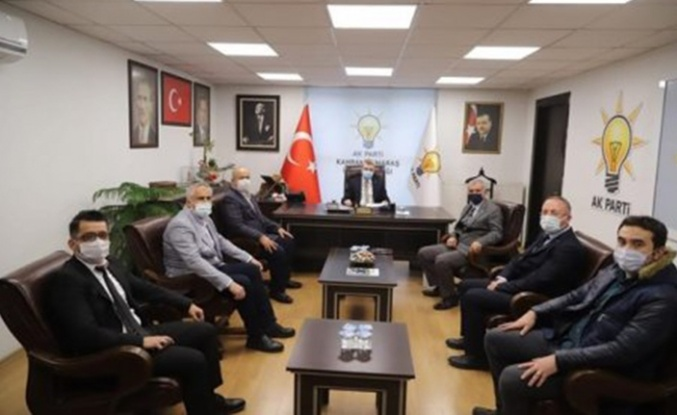 Akbaş'tan AK Parti ve TEİAŞ'a ziyaret!