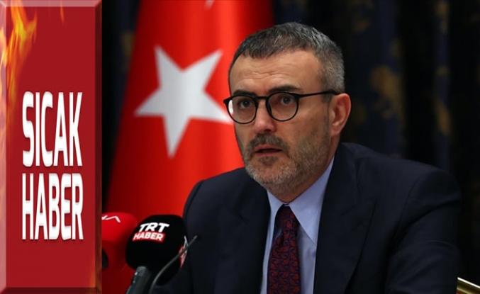 Türkiye'nin önünde herhangi bir şekilde erken seçim söz konusu değil