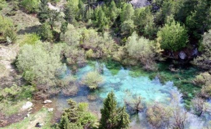 Heyelan sonrası oluşan Turkuaz Göl, turizme kazandırılacak…