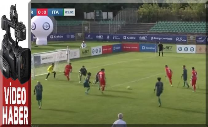 Ampute Milli Futbol Takımı, çeyrek finale yükseldi