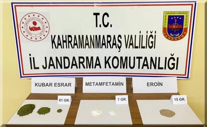 Pazarcık'ta uyuşturucu operasyonu