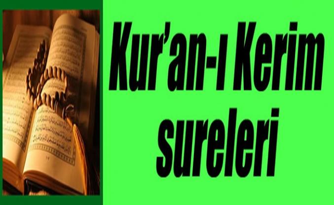 Kur'an-ı Kerim Sureleri: 5-el-MÂİDE